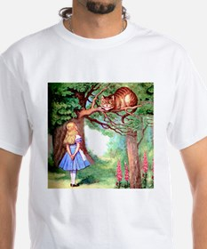 Alice and the Cheshire Cat Shirt