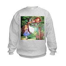 Alice and the Cheshire Cat Sweatshirt