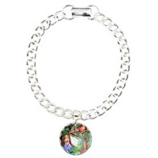 Alice and the Cheshire Cat Bracelet