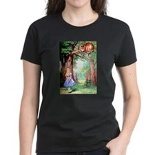 Alice and the Cheshire Cat Tee