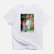 Alice and the Cheshire Cat Infant T-Shirt