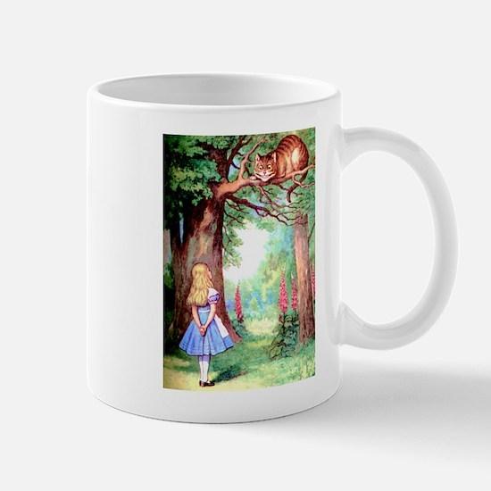 Alice and the Cheshire Cat Mug