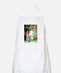 Alice and the Cheshire Cat Apron
