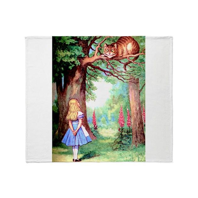 Cheshire Cat Blanket Uk