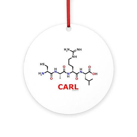 Carl molecularshirts.com Ornament (Round)