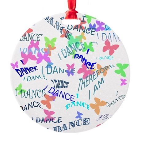 belly dance.jpg Round Ornament