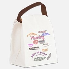 WARNING copy.jpg Canvas Lunch Bag