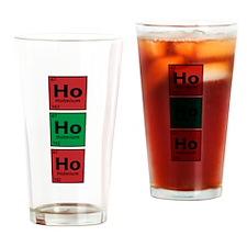 Ho Ho Ho Drinking Glass