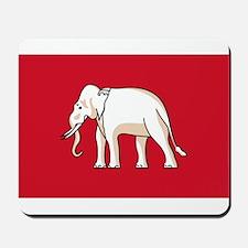 Thailand - National Flag - 1855-1916 Mousepad