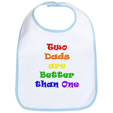 Two Dads Bib