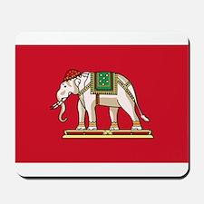 Thailand - National Flag - 1916-1917 Mousepad