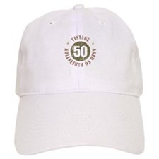 50th Vintage birthday Hat