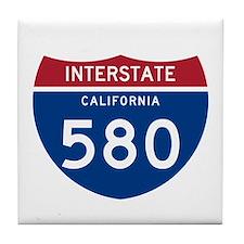 Interstate 95 Tile Coaster