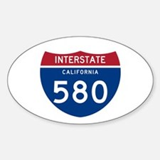 Interstate 95 Oval Decal