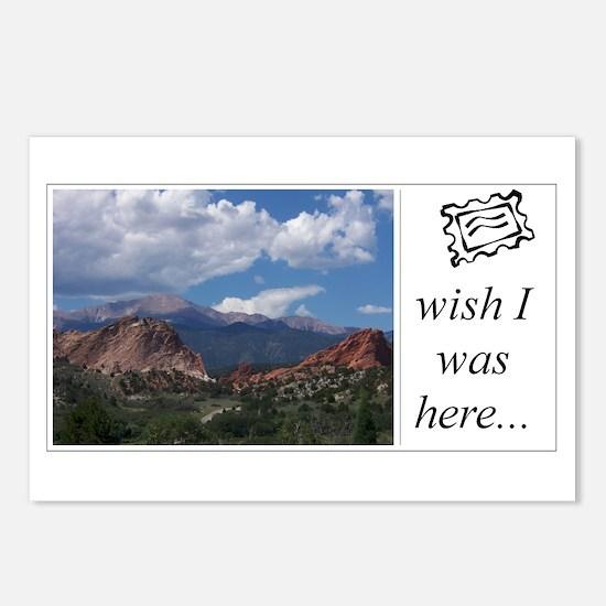 Postcards (Package of 8) - pikes peak