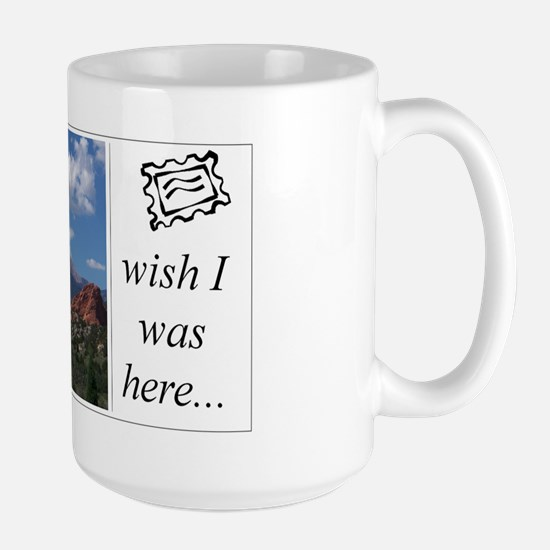 Large Mug - pikes peak