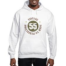 55th Vintage birthday Hoodie