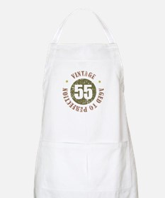 55th Vintage birthday Apron