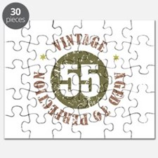 55th Vintage birthday Puzzle