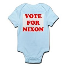 Vote For Nixon Infant Creeper