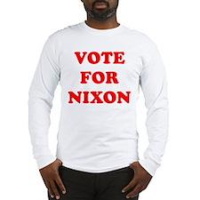 Vote For Nixon Long Sleeve T-Shirt