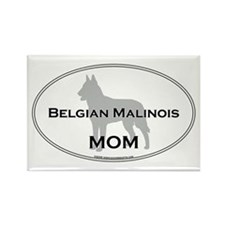 Belgian Malinois MOM Rectangle Magnet