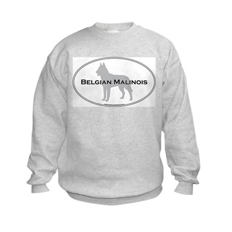 Belgian Malinois Kids Sweatshirt