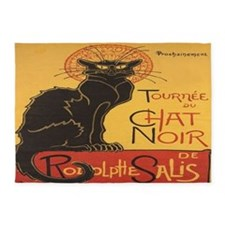 Le Chat Noir 5'x7'Area Rug