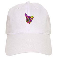Colored Chihuahua Baseball Cap