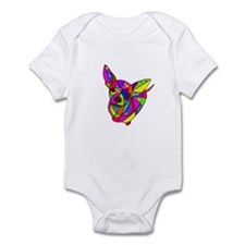 Colored Chihuahua Infant Bodysuit