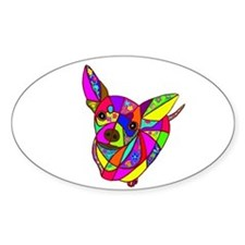 Colored Chihuahua Decal