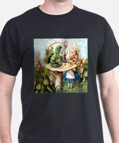 Alice Seeks Advice From the Caterpillar T-Shirt