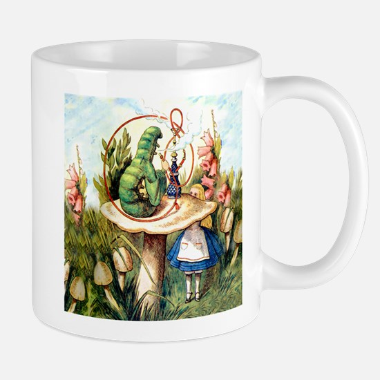 Alice Seeks Advice From the Caterpillar Mug
