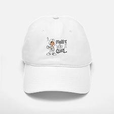 Licensed Fight Like a Girl 42.8 Bone Cancer Baseball Baseball Cap