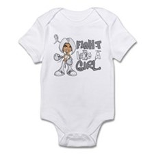 Licensed Fight Like a Girl 42.8 Bo Infant Bodysuit