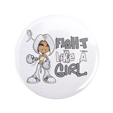 "Licensed Fight Like a Girl 42.8 Bone C 3.5"" Button"