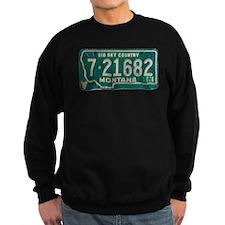1974 Montana License Plate Sweatshirt