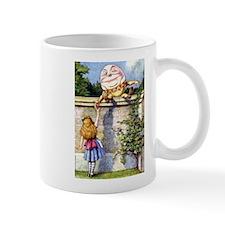 Alice and Humpty Dumpty Mug