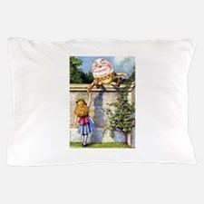 Alice and Humpty Dumpty Pillow Case