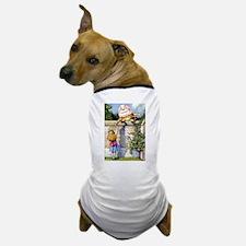 Alice and Humpty Dumpty Dog T-Shirt