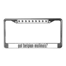 Got Belgian Malinois? License Plate Frame