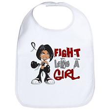 Licensed Fight Like a Girl 42.8 Skin Cancer Bib