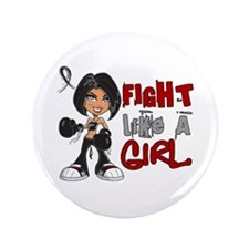 """Licensed Fight Like a Girl 42.8 Skin C 3.5"""" Button"""