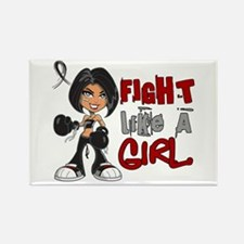 Licensed Fight Like a Girl 42.8 S Rectangle Magnet