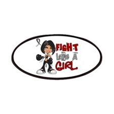 Licensed Fight Like a Girl 42.8 Skin Cance Patches
