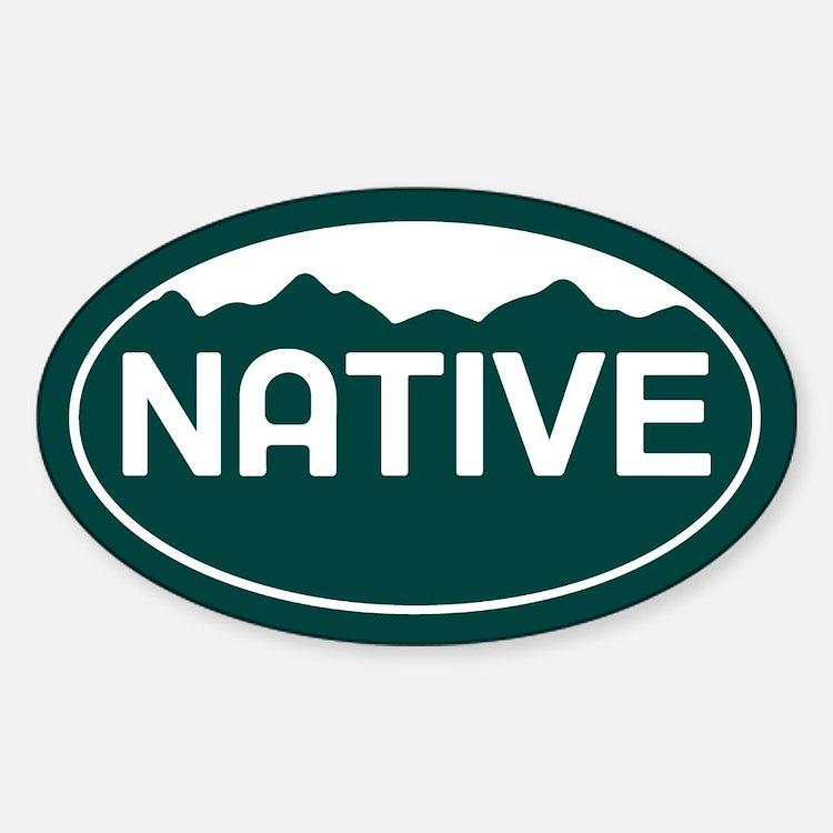 CO - Colorado - Native Sticker (Oval)