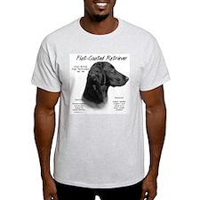 Flat Coat Ash Grey T-Shirt