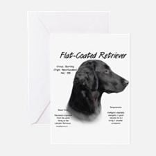 Flat Coat Greeting Cards (Pk of 10)