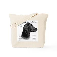Flat Coat Tote Bag