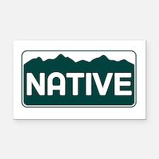 CO - Colorado - Native Rectangle Car Magnet